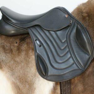 Comfort Elite Elevation Mono Flap Jump Saddle Native Pony Fit
