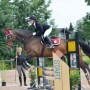 Mira & Fortuna compete at Show Jumping in their Four Star Jump saddle, Gel panel, Warmblood fit.