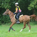 Nicki Thorn and Bonmita Competing in their Comfort Endurance Ride N Tie