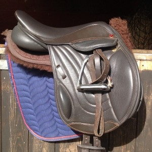 The Elevation Pony Flatter Seat Option, Native Pony Fit,Leather & french Calf.