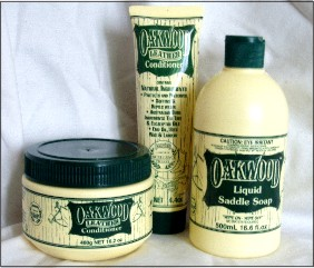 Oakwood Saddle Care Products